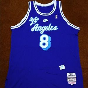 1996-97 Mitchell & Ness Los Angeles Laker #8 Rare